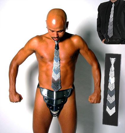 Edle Krawatte aus Edelstahl